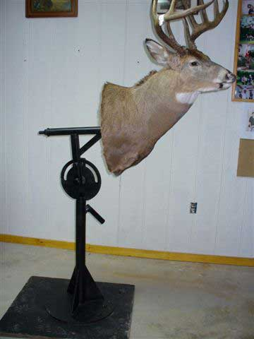 Rock Solid Concrete >> Trophy Mounting Stand at Vermont Taxidermist Bragg s Taxidermy in Middlebury, VT serving the ...